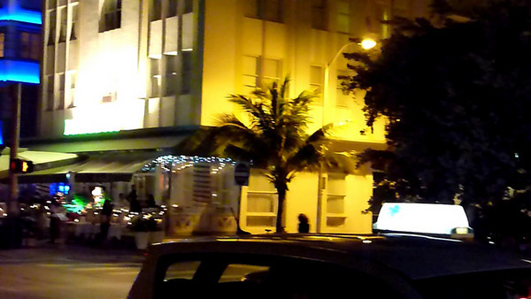 Ocean Drive, in South Beach Miami