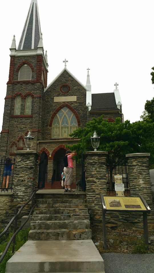 Harper's Ferry, WV - Saint Peter's Roman Catholic Church