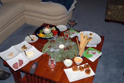 Dinner at Tony's & Sally's - Christmas Eve, 2007