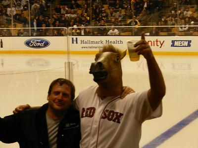 Boston Bruins Vs. Anaheim Ducks Game (During World Series Trip) - October 2013