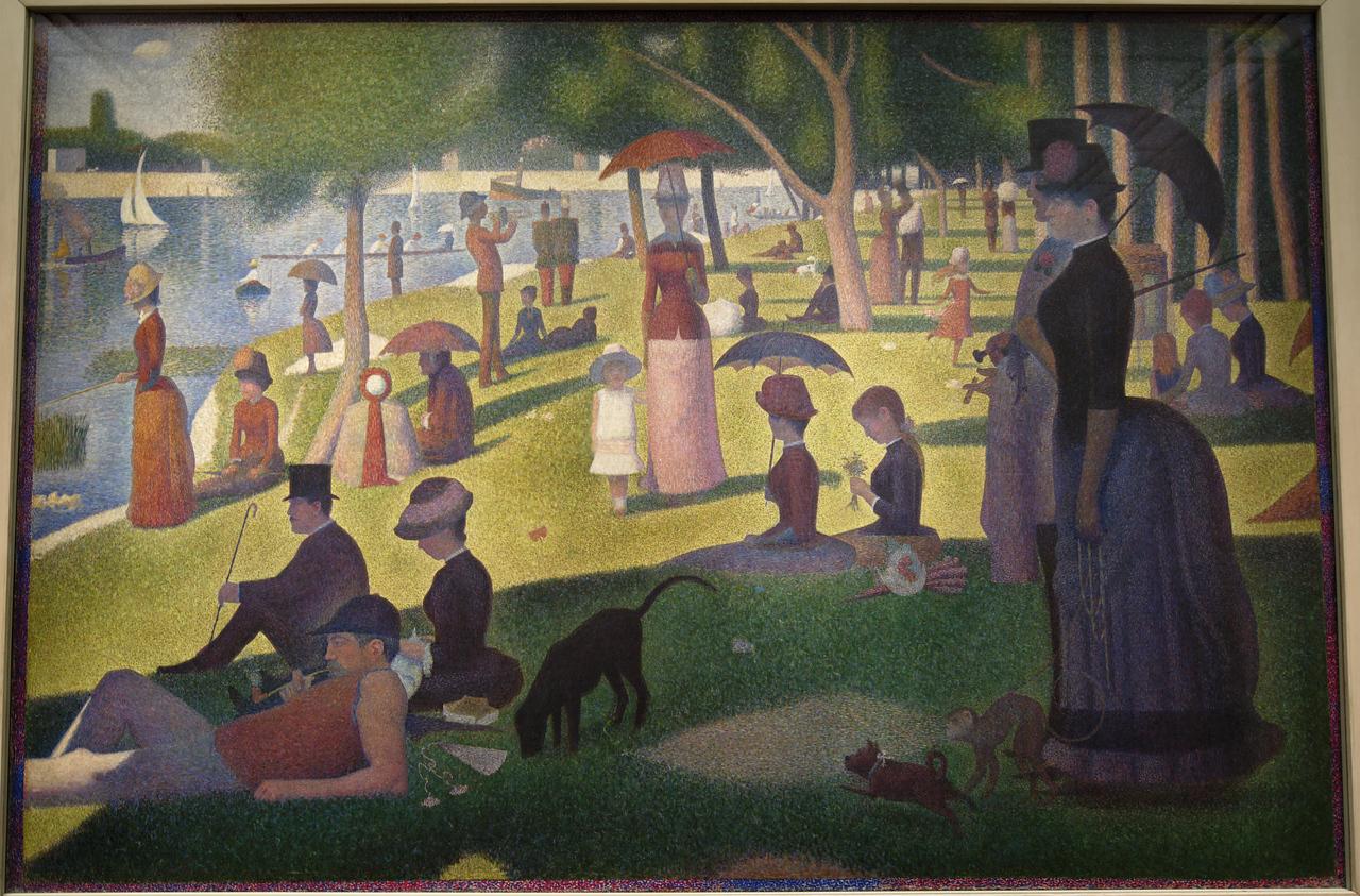 Art Institvte Chicago Georges Seurat