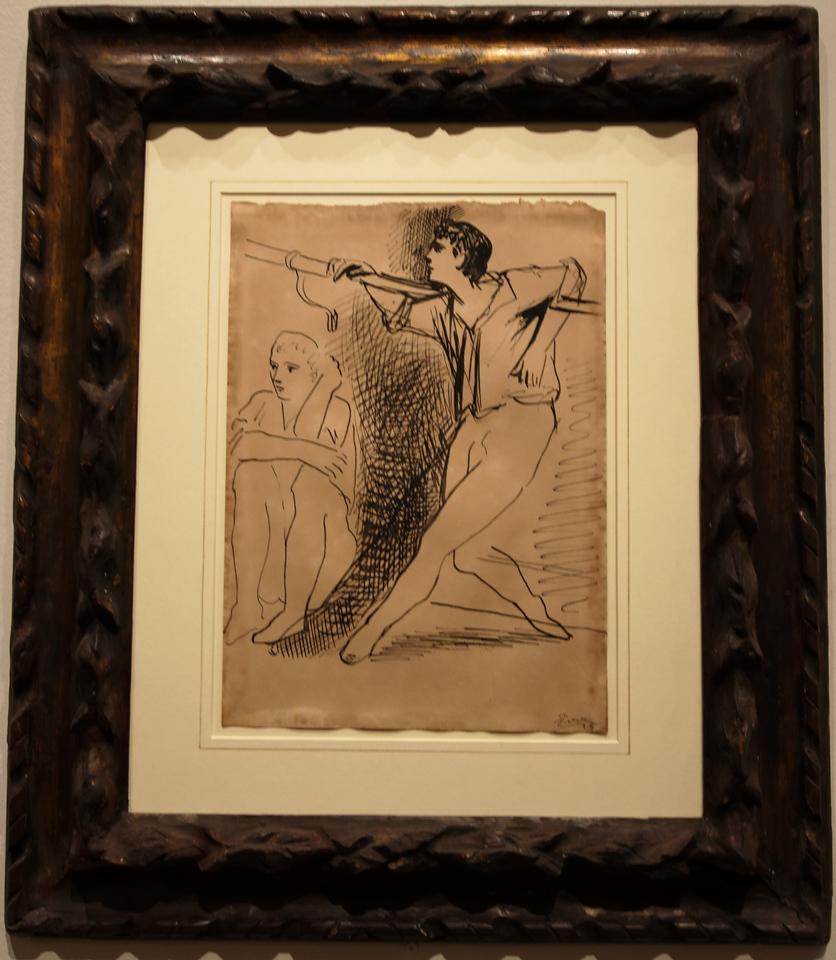 "Art Institvte Chicago Pacaso ""Two Dancers"" 1925"