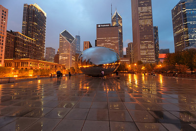 The Bean in Millennium Park.