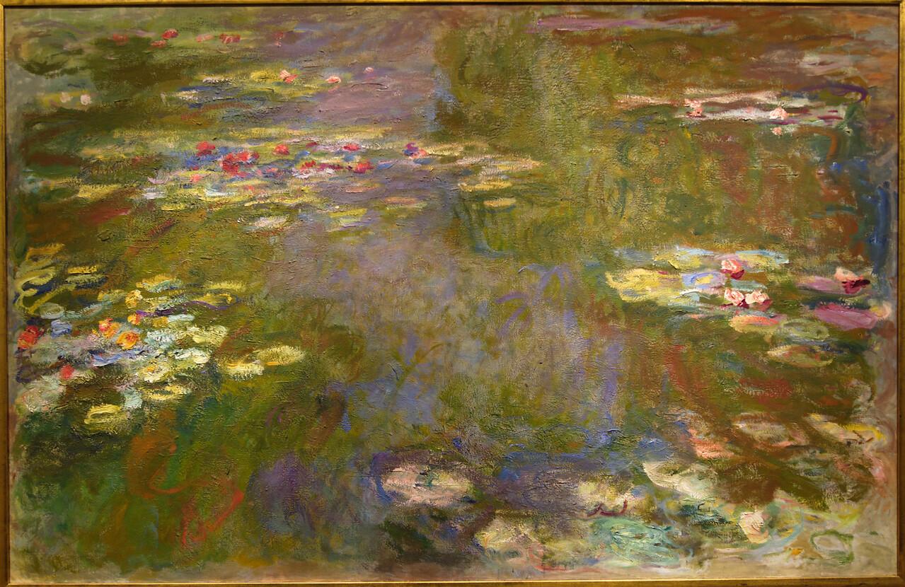 """Art Institvte Chicago Claude Monet """"Water Lily Pond"""""""