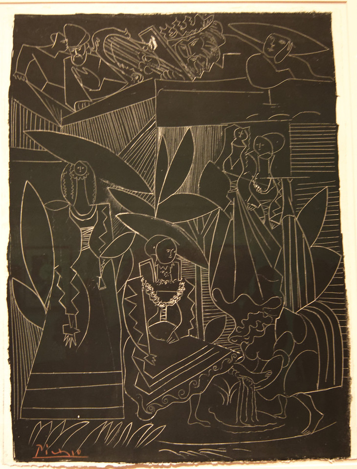 "Art Institvte Chicago Pacaso ""David and Bathsheba"" 1947"