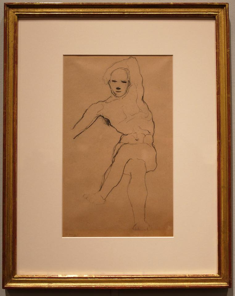"Art Institvte Chicago Pacaso ""Study of a Seated Man"""
