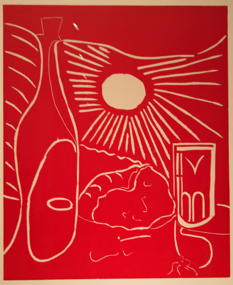 "Art Institvte Chicago Pacaso ""Still Life with Lunch 1"" 1962"