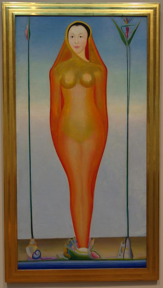 """Art Institvte Chicago Joseph Stella """"A Vision"""" 1925"""