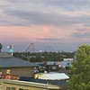 Rainbow Over the Rollercoasters