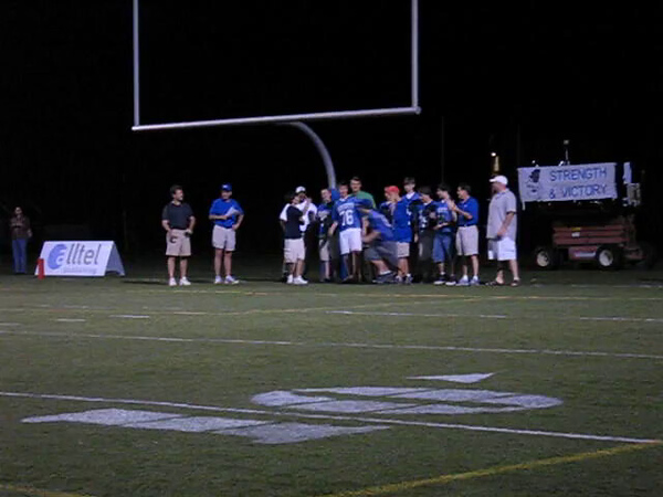 2005 Alex Introduced at Halftime