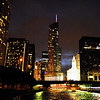 Downtown Chicago at Night :