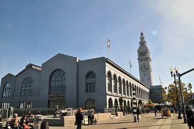 the Ferry Plaza