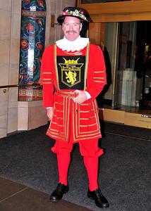 the doorman at the Sir Francis Drake Hotel