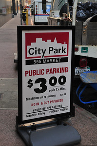 car parking isn't cheap!
