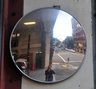 mirrors so they can see the traffic when they are pulling out!