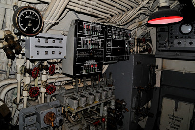 these are more photos of the control room that I used my flash, so you can see more detail
