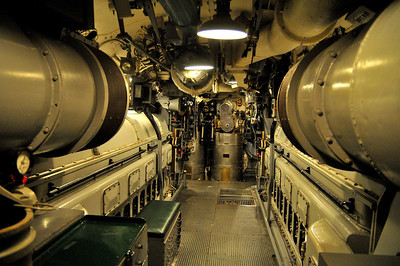 the 2nd engine room