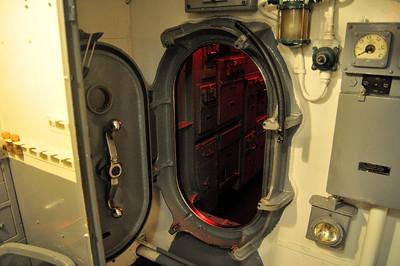 door to the control room