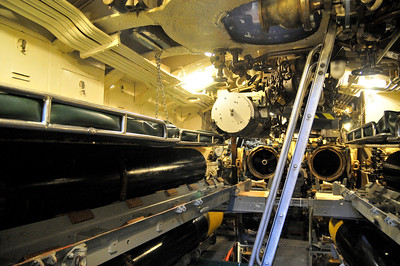 you had a bunk right in the torpedo room!