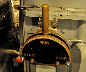 in the engine room, this control seemed pretty important