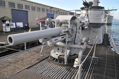 the deck gun