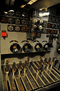 this is the control panel for the electric engines (that actually drove the sub)