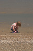 lauren crouching for shells