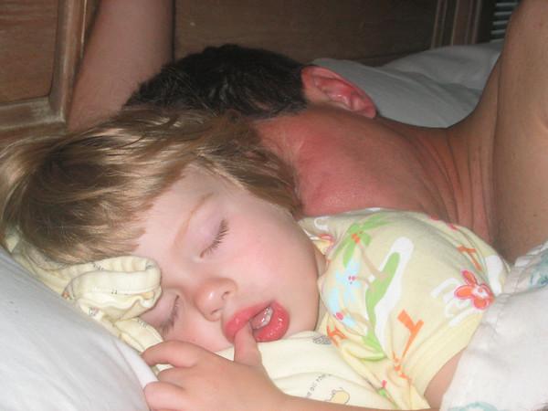 lauren sleeping with daddy