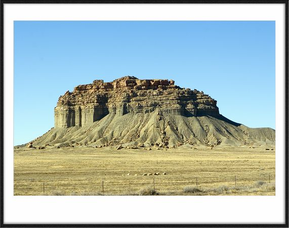 Ford Butte @ Navajo Indian Reservationin New Mexico