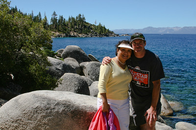 Lake Tahoe in August