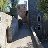 Entrance to Castello di Brolio grounds