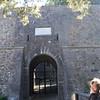 Gate entrance to Castello di Brolio (begin tour)