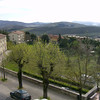 Radda from the Palazzo Leopoldo Terrace, it's greening up.  It had rained the week before we arrived.  Talk about timing.