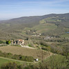 Last pic of Radda in Chianti.   Notice how much greener the landscape is in just one week.