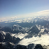 This is the Zugspitze in the Bavarian Alps.  It is the highest point in Germany.