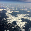 Flight from Florence to Munich. These are the Bavarian Alps.