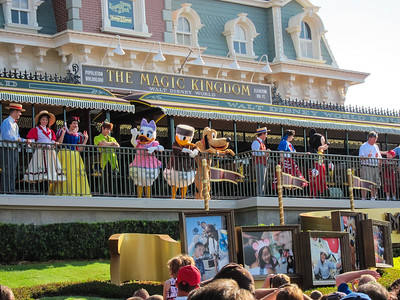 The show that opens the Magic Kingdom in the morning