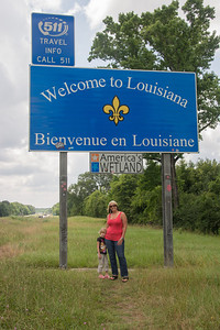 Kaylee's First Time in Louisiana