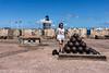 200 lb. cannon balls