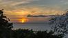 A wispy Sunset