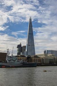 The Shard & HMS Belfast