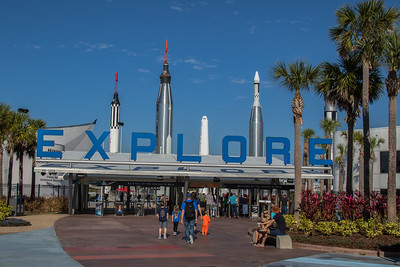 Day 1: NASA Kennedy Space Center