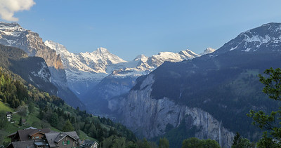 View from Hotel in Wengen
