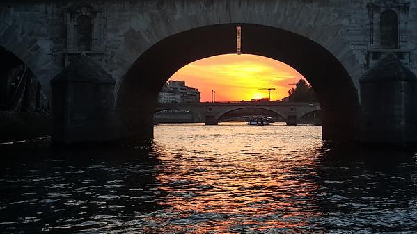 Evening Cruise on the Seine