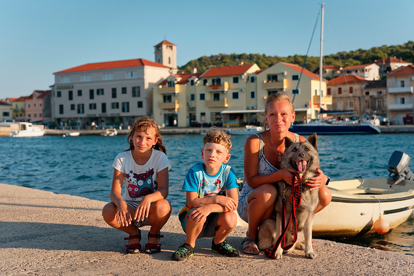 Summer vacation Croatia - island Murter, 2018.