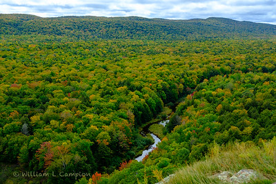 Porcupine Mountains Wilderness State Park.