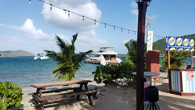Jeremy's Kitchen, Trellis Bay, Beef Island, British Virgin Islands.