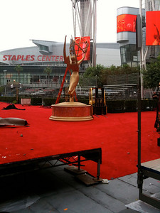 More Red Carpet under construction
