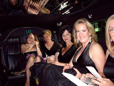 All dressed and heading off in our limo to the Red Carpet and the start of the Emmys!