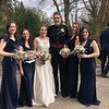 Vicki, Charlotte, Alex, Mike, Georgie (maid of honor)  & Annabel
